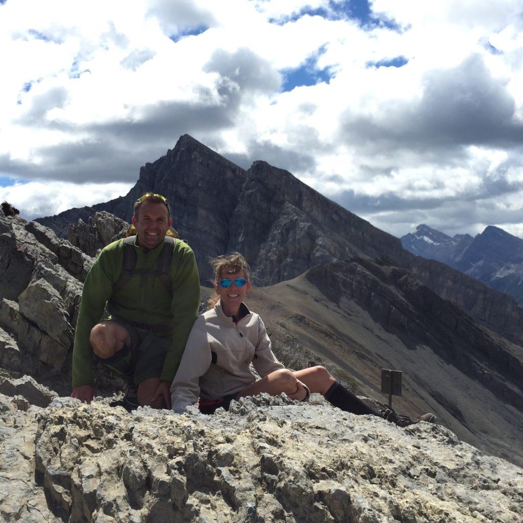 Ha Ling Peak summit