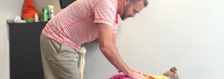 Adjusting Kids Chiropractor