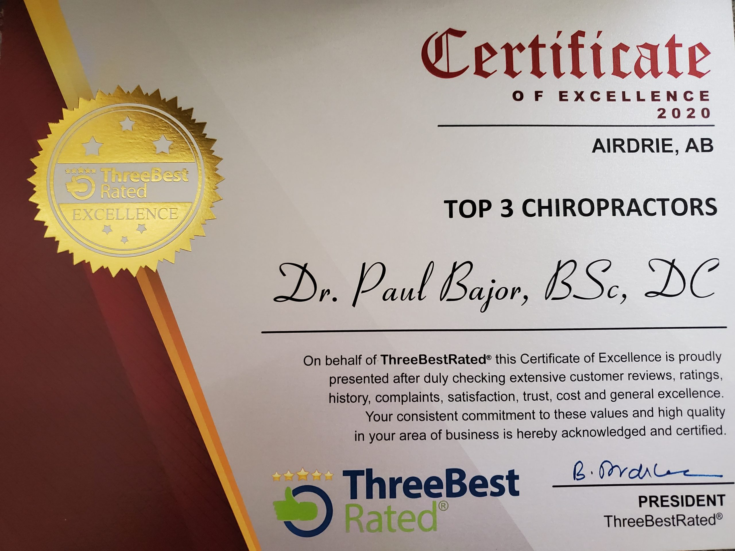 Best Chiropractor in Airdrie