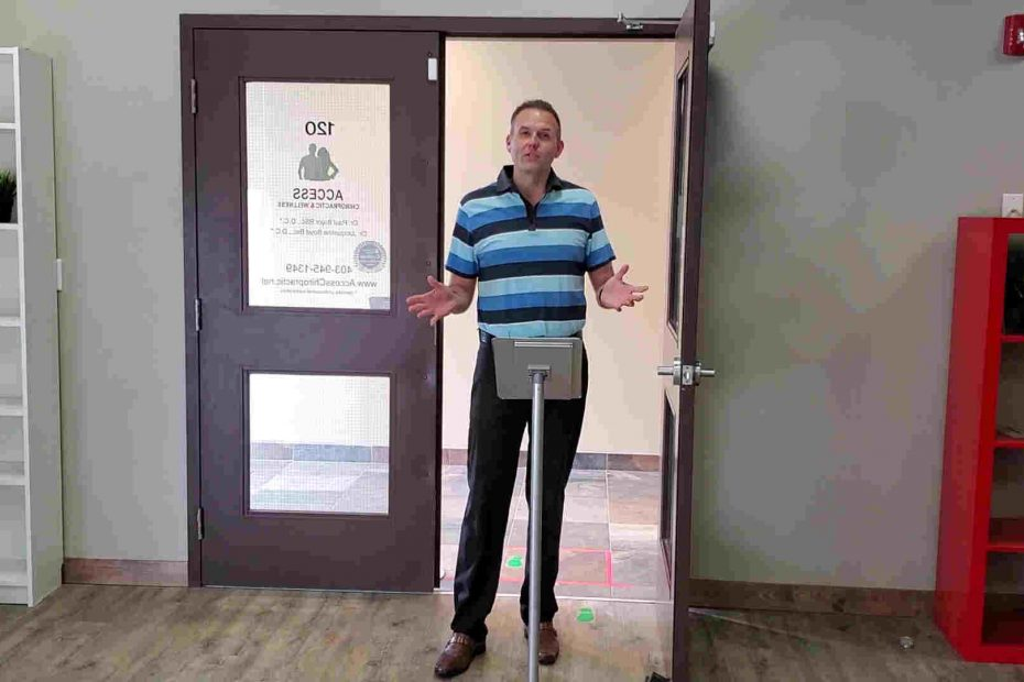 airdrie chiropractor describes safety protocols in clinic for covid19