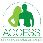 access chiropractic and wellness airdrie alberta logo