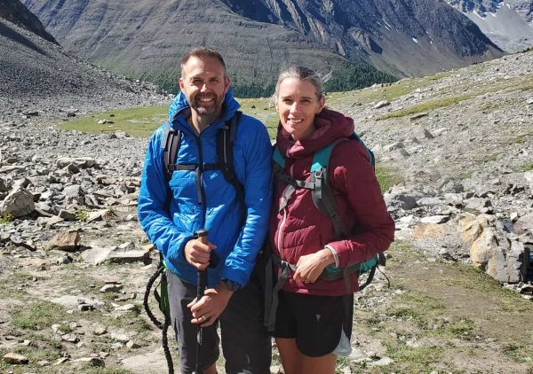 Airdrie chiropractors hiking mountains in Alberta