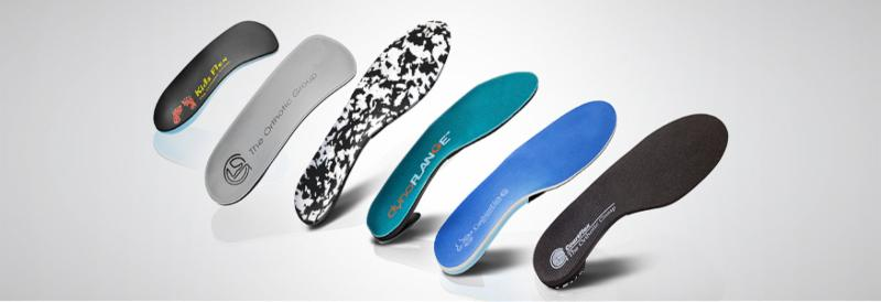 custom foot orthotics from the orthotic group at access chiropractic and wellness in airdrie alberta