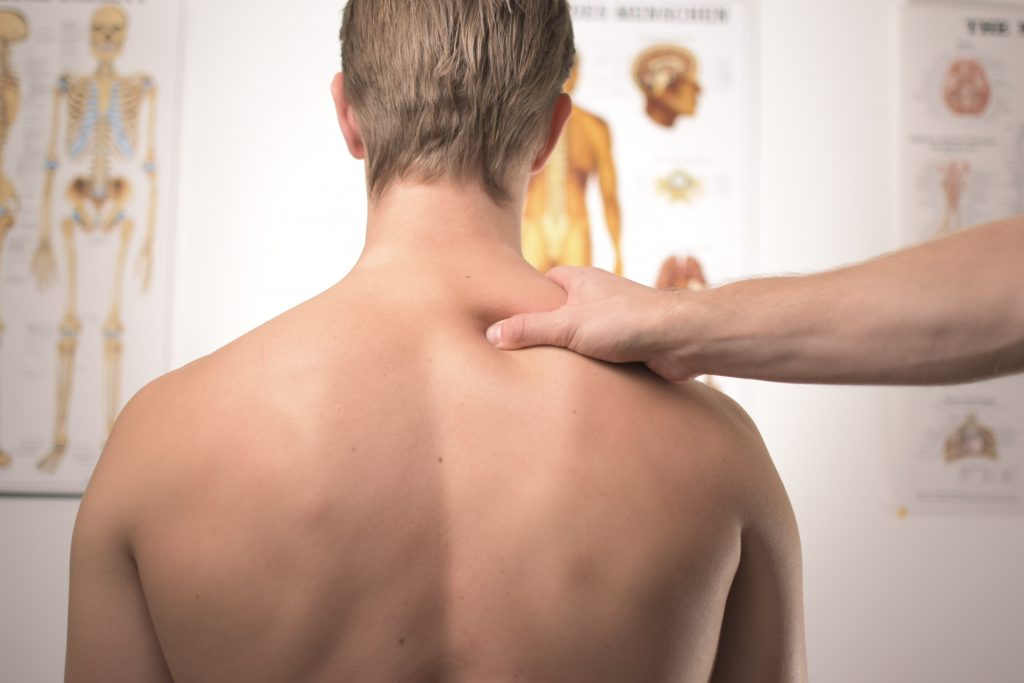 Airdrie chiropractors can feel your spine and help you