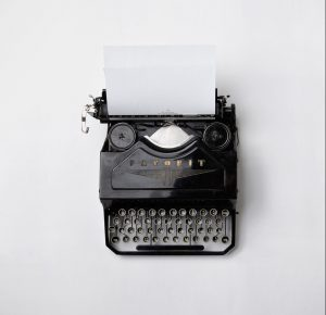 newsletters can be written with typewriters